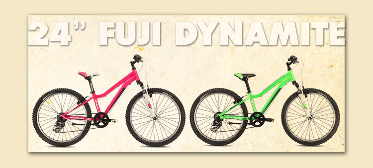 24″ Kids Multi-Speed fuji dynamite rental ft myers fl