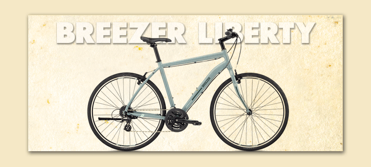Breezer Liberty bicycle rental ft myers florida